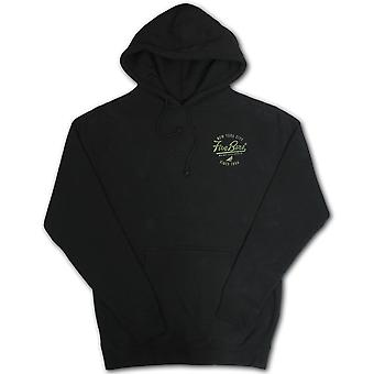 5boro Shaolin Island Pullover Hoodie Black Olive