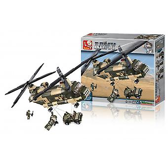 Sluban Building Blocks, Army Serial Transport Helicopter
