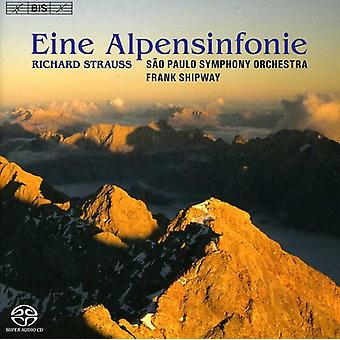 R. Strauss - Richard Strauss: Eine Alpensinfonie [SACD] USA import