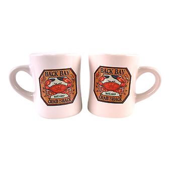 Red Crab Shack Ceramic Salt and Pepper Shaker Set