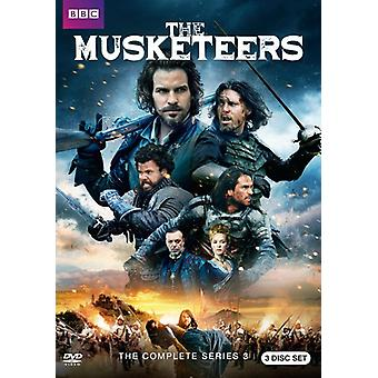 Musketiere: Season 3 [DVD] USA import