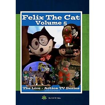 Felix the Cat: The Live Action Series 5 [DVD] USA import