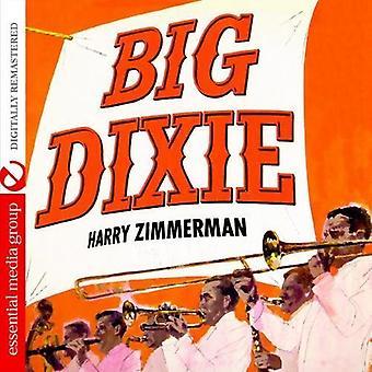 Harry Zimmerman & zijn grote Dixieland Band - Big Dixie [CD] USA importeren