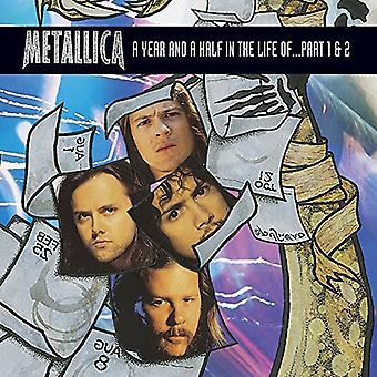 Metallica - & et halvt år i liv... Del 1 & 2 [DVD] USA importerer