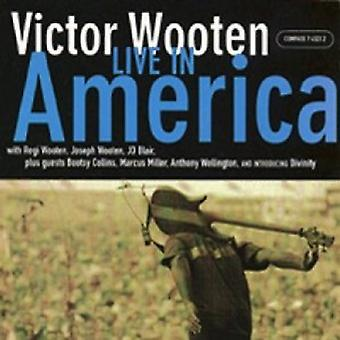 Victor Wooten - Live i Amerika [CD] USA import
