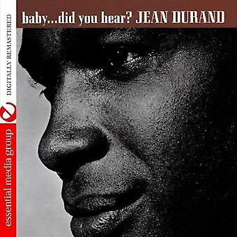 Jean Durand - Babya Did You Hear? [CD] USA import