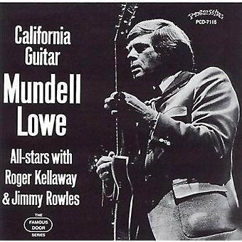 Mundell All-Stars Lowe - California Guitar [CD] USA import