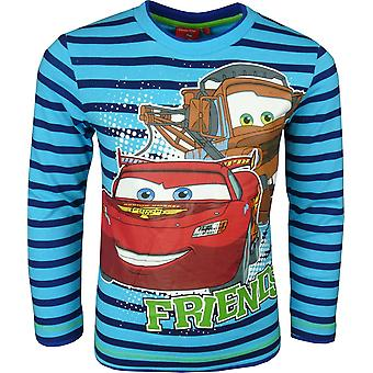 Boys Disney Cars Lightning McQueen HO1101 Long Sleeve Top