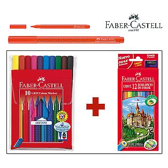 Faber Castell Faber Pack Estuche Lápices Y Rotuladores färg