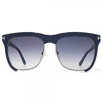 Tom Ford Thea zonnebril In blauw