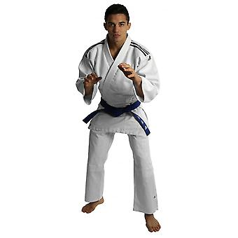 Adidas Club Judo Uniform - vit & svart