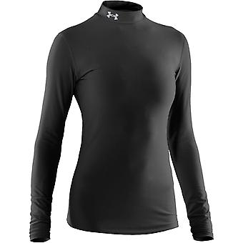 UNDER ARMOUR women's sub zero coldgear mock [black]