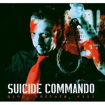 Selvmord Commando - binde tortur Kill-Box [CD] USA importerer
