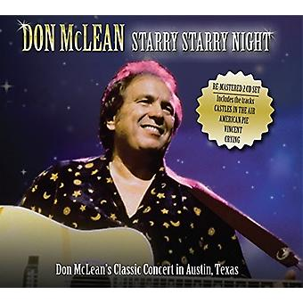 Don McLean - McLean Don-Starry Starry Night: Live [CD] USA import