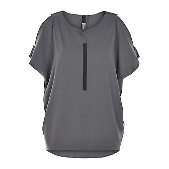 Henriette Steffensen oversize ladies shirt with open shoulder