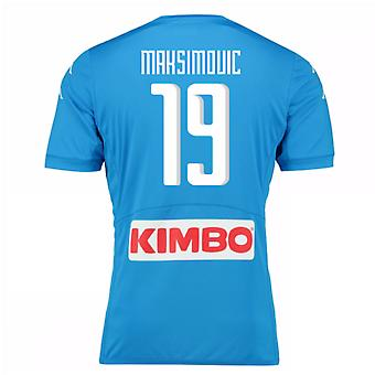 2016-17 Napoli authentiek thuis Shirt (Maksimovic 19)
