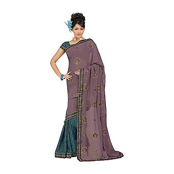 Atreyi Party tragen Georgette Sari Saree