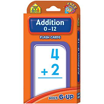 Flash Cards Addition 0 12 55 Pkg Szflc 4006
