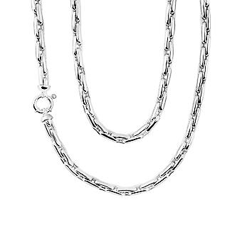 Sterling Silver 925 Gents Mens Solid Square Rolo Chain Chunky Heavy Fine Necklace 22 inch