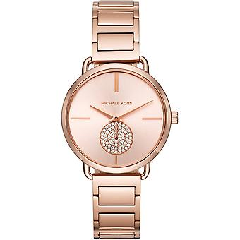 Michael Kors Watches Mk3640 Portia Rose Gold Tone Stainless Steel Ladies Watch