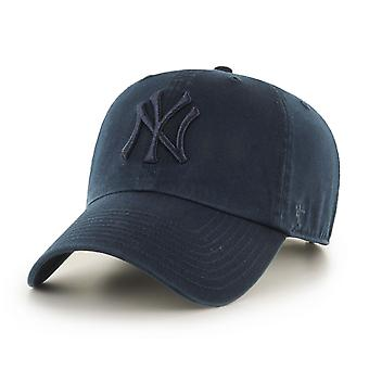 47 Brand MLB NY Yankees Clean Up Cap - Timber Blue