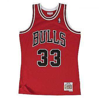Mitchell & Ness Nba Chicago Bulls Scottie Pippen 1997-98 Swingman maglia rossa