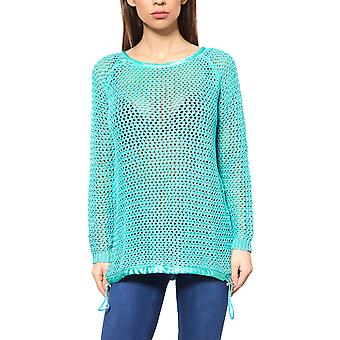 B.C.. best connections by heine women's Chunky knit sweater Green