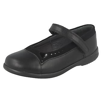 Girls Startrite School Shoes With Heart Detail Emilia