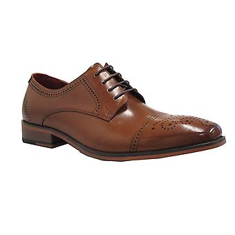 Escape Mens Shoe Patterson Caramel