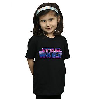 Star Wars Girls Neon Logo T-Shirt
