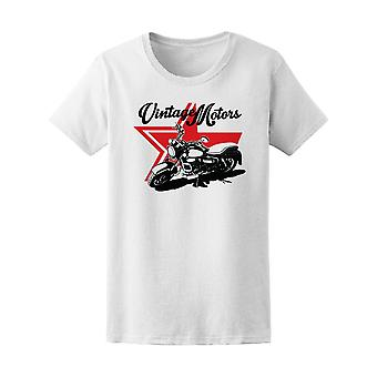 Vintage Motors T-Shirt Retro Pri Tee Women's -Image by Shutterstock