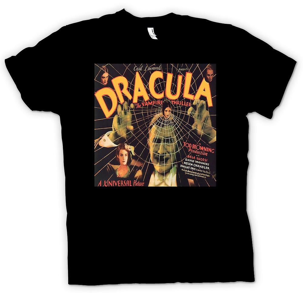 Mens T-shirt - Dracula - Bela Lugosi Poster