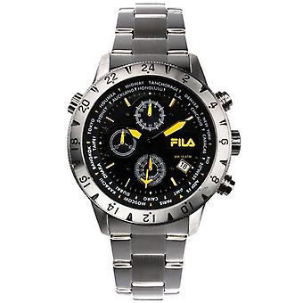 Fila men's watch chronograph stainless steel FA38-007-003