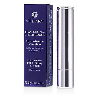 Door Terry Hyaluronic Sheer Rouge Hydra balsem vulling en mollige Lipstick (UV Defense) - # 3 Baby Bloom - 3g / 0,1 oz