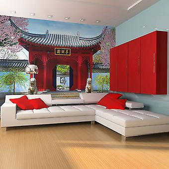 Wallpaper - Chinese botanical garden of Montreal (Quebec Canada)