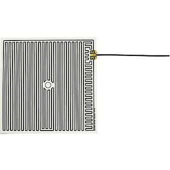 Thermo Polyester Heating foil self-adhesive 230 V AC 35 W IP rating IPX4 (L x W) 260 mm x 260 mm