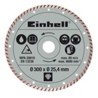 Einhell Diamond cut-off wheel 300 x 25.4 mm turbo radial tile cutting accessories Einhell 4301178 1 pc(s)
