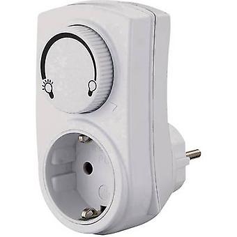 GAO 0793 Dimmer adapter Suitable for light bulbs: Light bulb, Halogen lamp White