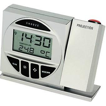 TFA 98.1009 98.1009 Radio Projection clock Digital Silver