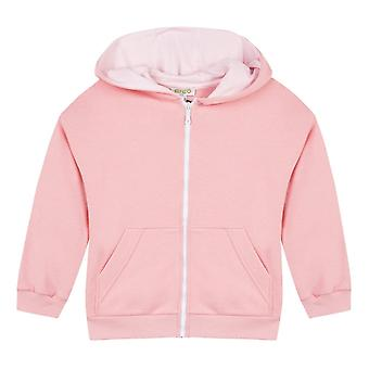 Kenzo Infants Sport Back Print Hoodie (Pink)