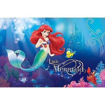 Disney petite sirène Ariel mur décoration 254x184cm