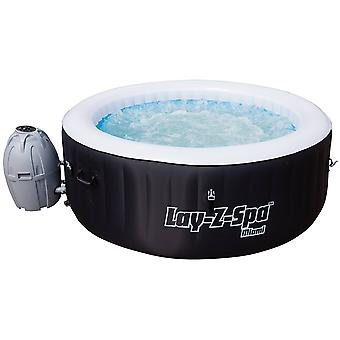 Bestway Lay-Z-Spa Miami AirJet Inflatable Hot Tub Rapid Heating System