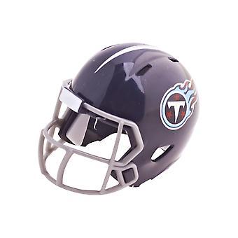Cascos de fútbol bolsillo Riddell speed - titanes de Tennessee de la NFL