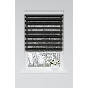 Nightlife Duo Black blackout roller blind