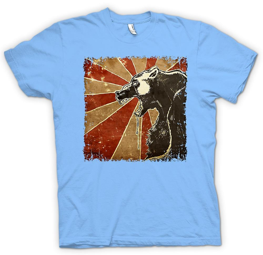 Cartel Retro Cool mens t-shirt - oso ruso-