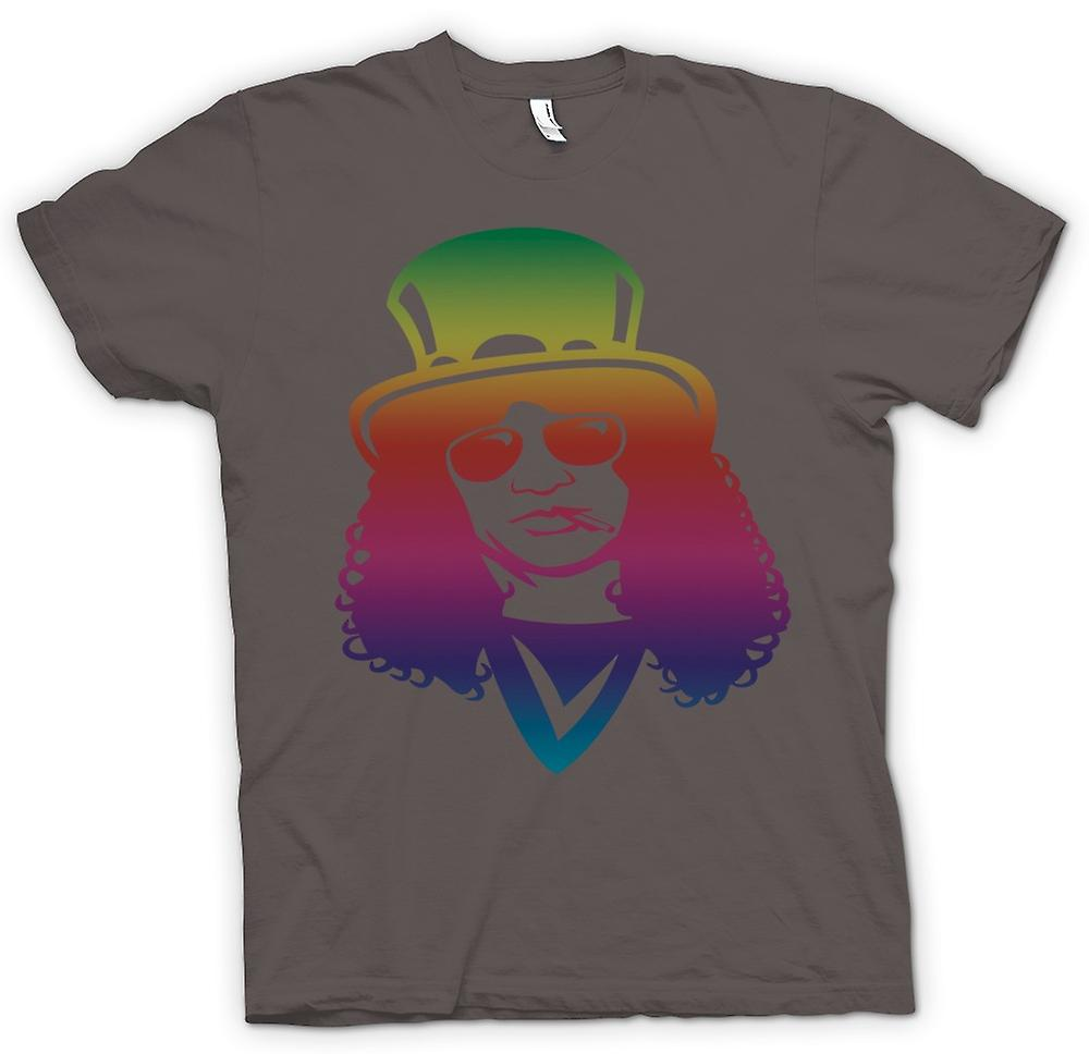 Mens T-shirt - Slash Portrait - Smoking