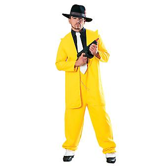 Juego Gangster usar amarillo - Gangsters y shoppings - Lifesize cartulina recorte / pie