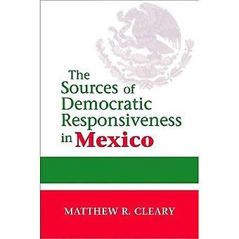 Le fonti di reattività democratica in Messico