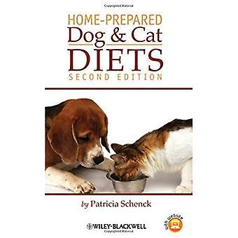 Confeccionadas em casa cão e gato dietas