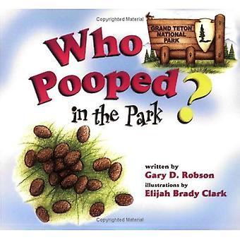 Qui fait caca dans le parc? Parc National de Grand Teton